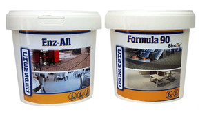 CHEMSPEC Enz-All + Formula 90 Powder - zestaw do prania tapicerki - 2x0,68kg