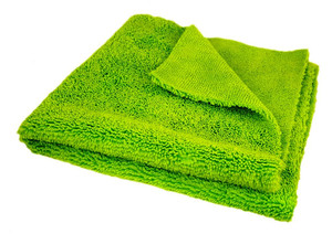 HELL'S BLING - Super Plush Green Microfiber - 40 x 40 cm (320g/m²)
