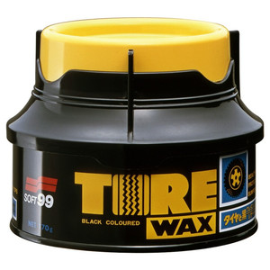 Soft99 Tire Black Wax - wosk do opon - 170g